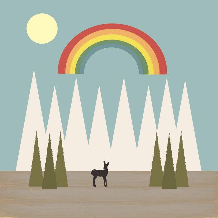 The Rainbow Duvet Cover
