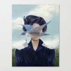 It's a bird ? Canvas Print