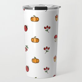 Autumn Season Pattern Ang Travel Mug