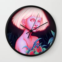 venus Wall Clocks featuring Venus by Joifish