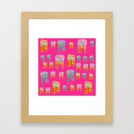 Tooth Terrariums Framed Art Print