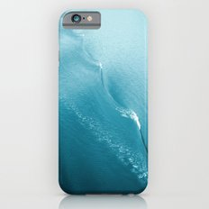Ripple in Time (aqua) iPhone 6s Slim Case