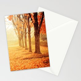 The Poetry of Autumn Stationery Cards