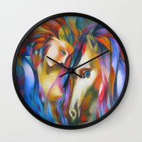 ruben Wall Clocks featuring Ruben 0 by  Alexandra's Collection