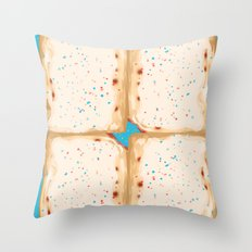 Popterts Throw Pillow