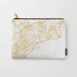 PANAMA CITY STREET MAP ART Carry-All Pouch