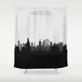 City Skylines: Hartford Shower Curtain