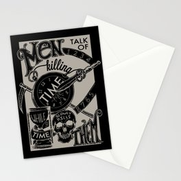 Killing Time Stationery Cards