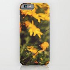 Sigue el camino de margaritas amarillas iPhone 6s Slim Case