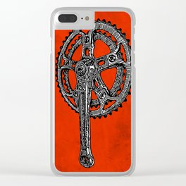 Inked Crankset Clear iPhone Case