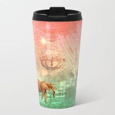 Elephants in the Ballroom Metal Travel Mug