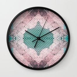 Sky Tile Wall Clock