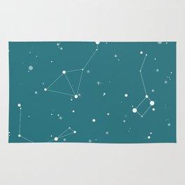Emerald Night Sky Rug