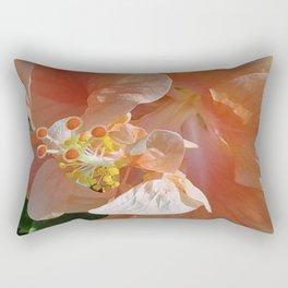 Peach godess Rectangular Pillow