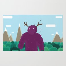 Life Swarms with Innocent Monsters Rug