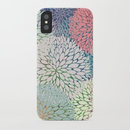 Abstract Floral Petals 3 iPhone Case
