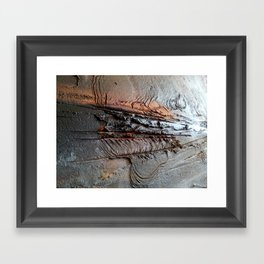 Abstract Structure Framed Art Print