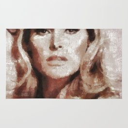 Ursula Andress by MB Rug