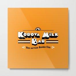 Korova Milkbar Metal Print