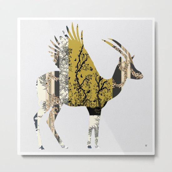 FabCreature · GoBi 2 Metal Print