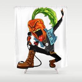 Carrot Frontman Of Vegan Band Shower Curtain