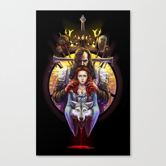 The Blood Maiden Canvas Print
