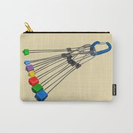 Rock Climbing Wires Carry-All Pouch
