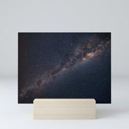 Space and stars Mini Art Print
