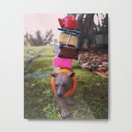 There's a New Bear in Town Metal Print
