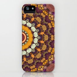 Enchanted Autumn -- Mandala Form iPhone Case