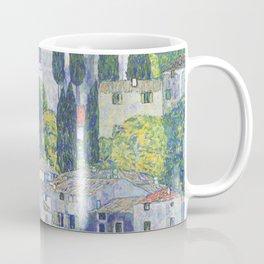 Gustav Klimt Church in Cassone Coffee Mug