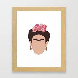 Fierce Frida Framed Art Print
