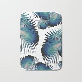 Fan Palm Leaves Paradise #1 #tropical #decor #art #society6 Bath Mat