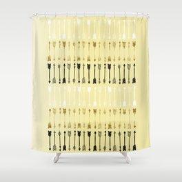 Arrows Shower Curtain