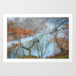 On Top Of Steamboat Art Print
