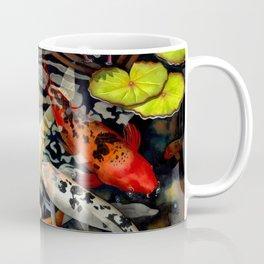 Koi & Waterlilies Coffee Mug