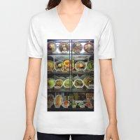 ramen V-neck T-shirts featuring Ramen choices. by Oyl Miller