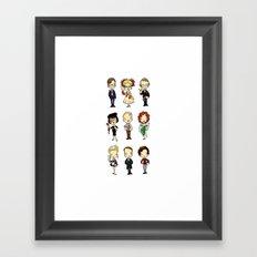 Who-dun-it? Framed Art Print