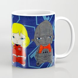 A Boy - Captain Future (Capitaine Flam) Coffee Mug