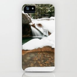 Lonesome Lake Trail iPhone Case