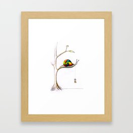 Treesnail Framed Art Print