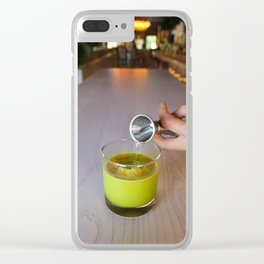Summer Cocktails Clear iPhone Case