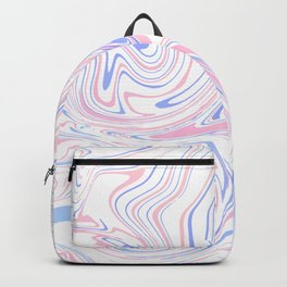 Light Pastel abstract marble 3 Backpack