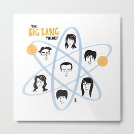 The Big Bang Theory Metal Print