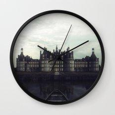 Bereft in deathly bloom Wall Clock