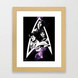 Beyond the Stars Framed Art Print