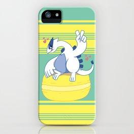 Lugia and a Big Macaroon iPhone Case