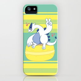 Lugia and a Big Macaroon iPhone Case