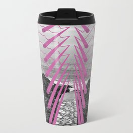 Surreal Beachscape Metal Travel Mug