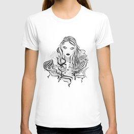 Scary mermaid T-shirt